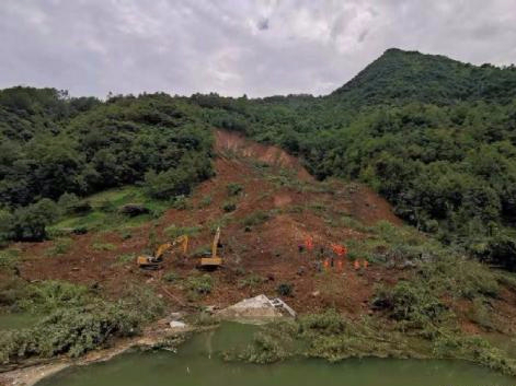 One dead, six missing in southwest China landslide