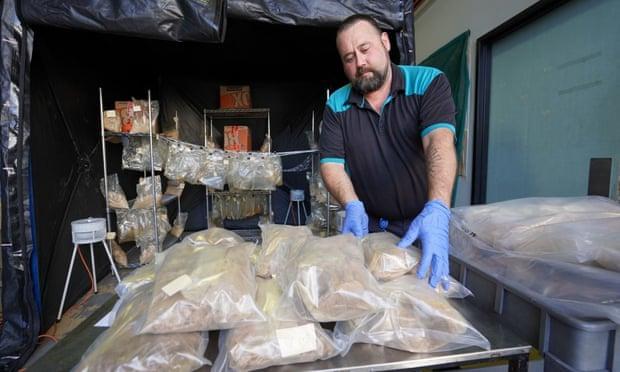 Brits arrested in record Australia drug bust