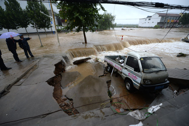 More than 12.8 million people in China affected by Typhoon Lekima