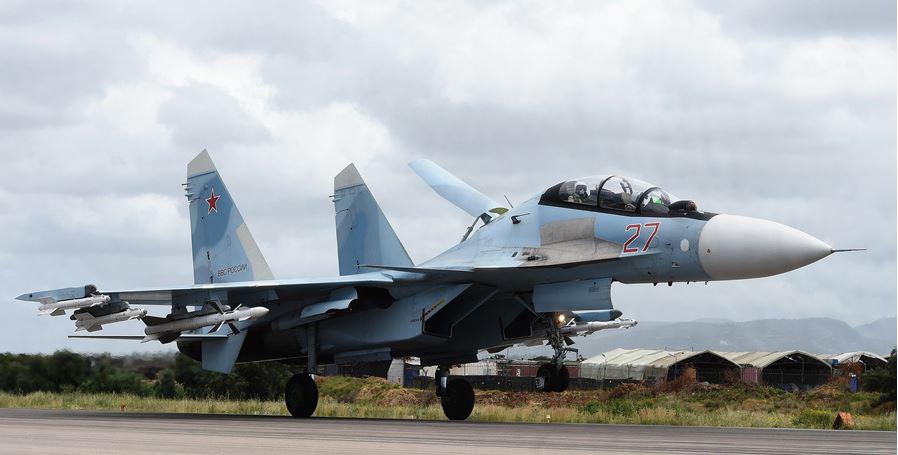 Russian fighters drive NATO warplane away from defense chief's plane