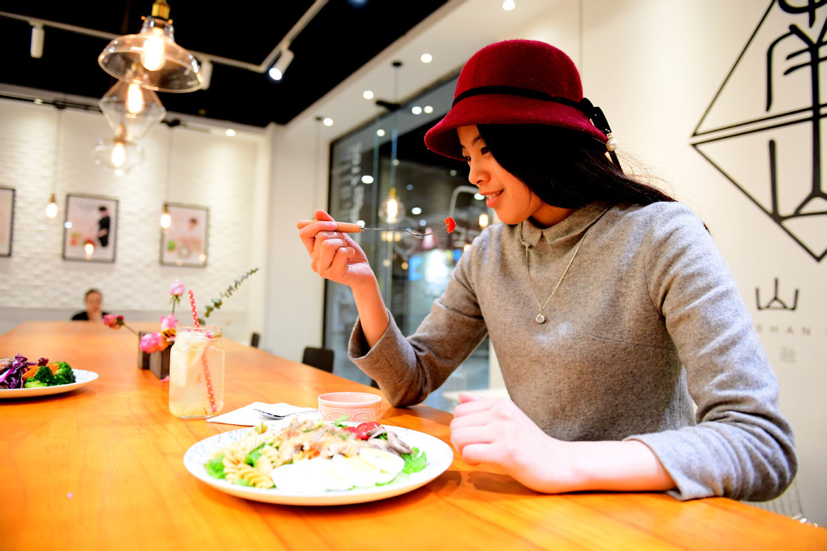 Light meals gain popularity in China