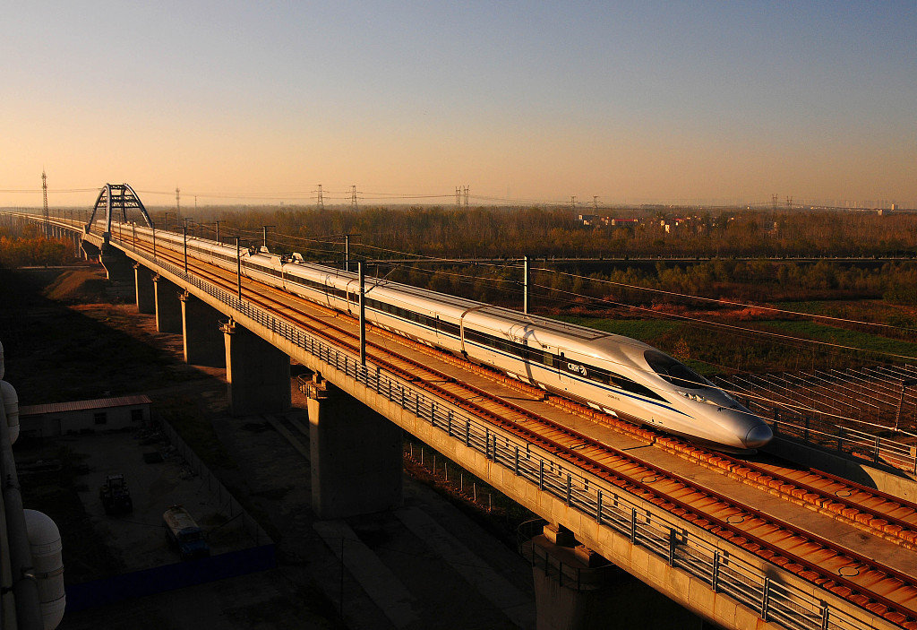 Chinese high-speed railway, expressway mileage top the world: report