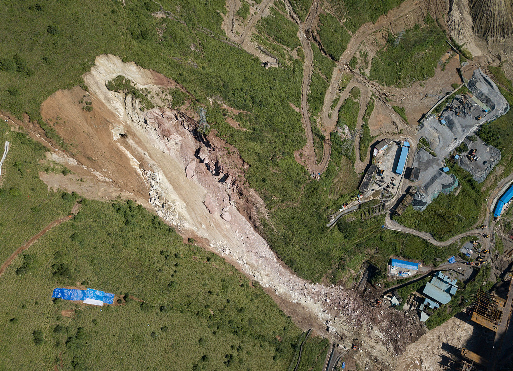 17 missing after rock collapse in SW China