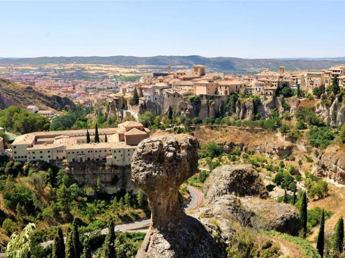 In pics: view of Cuenca, Spain