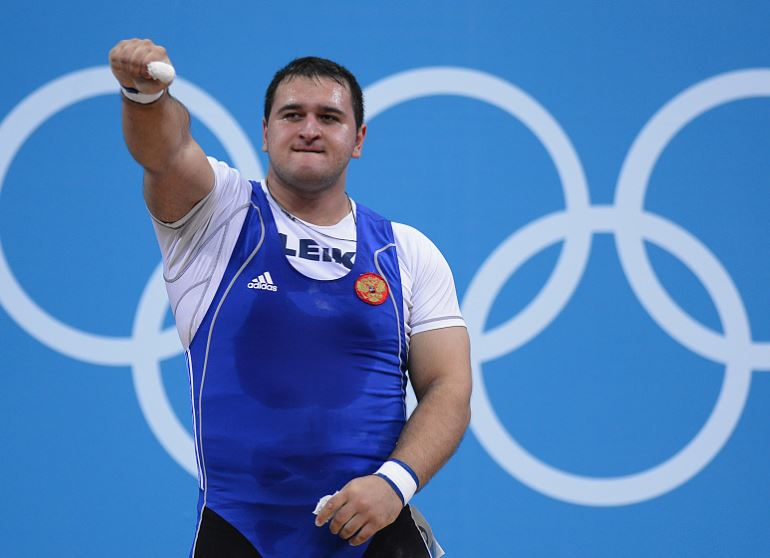 IWF provisionally suspends five Russian weightlifters