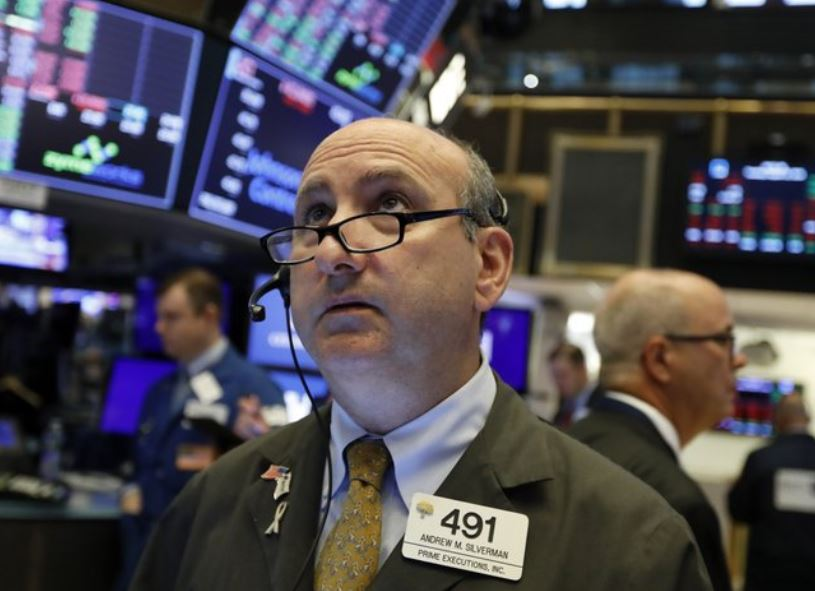US stocks close sharply lower as recession fears grip Wall Street