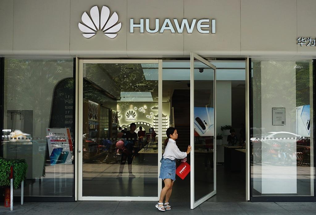 Huawei launches smart TV running on HarmonyOS