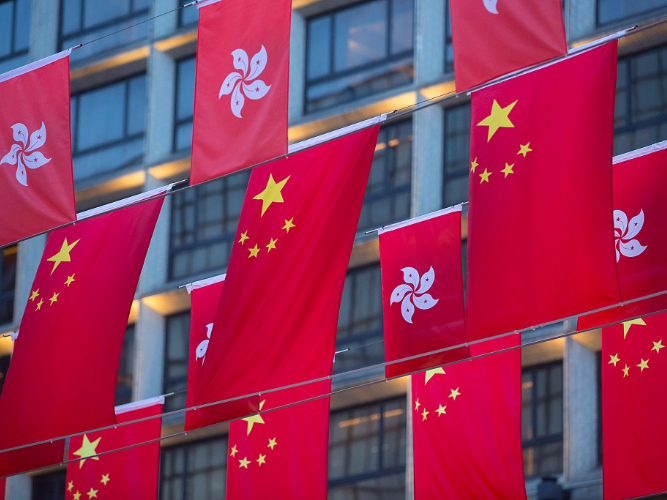 Returning to rule of law 'only way' for HKSAR