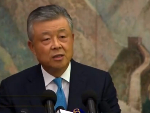 Beijing not to 'sit by and watch' if Hong Kong protests turn into unrest