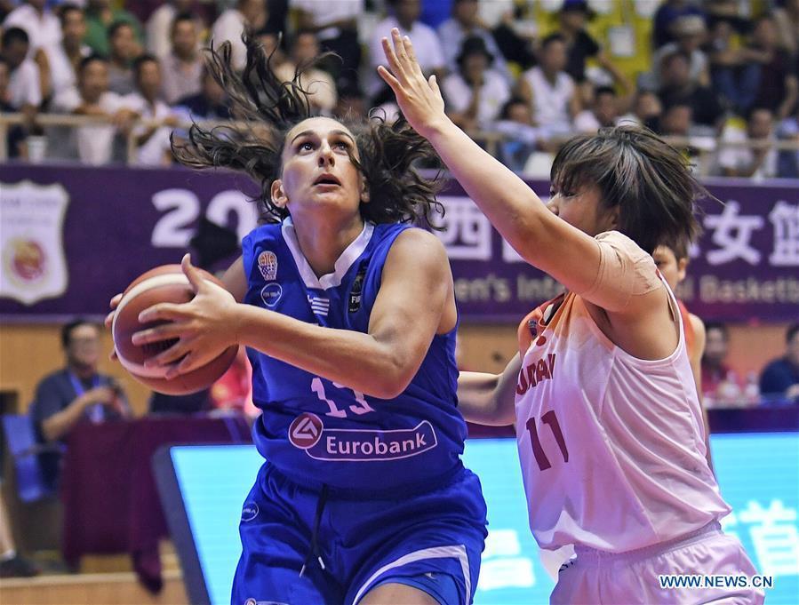 Xichang Women's International Basketball Championships: Japan vs. Greece
