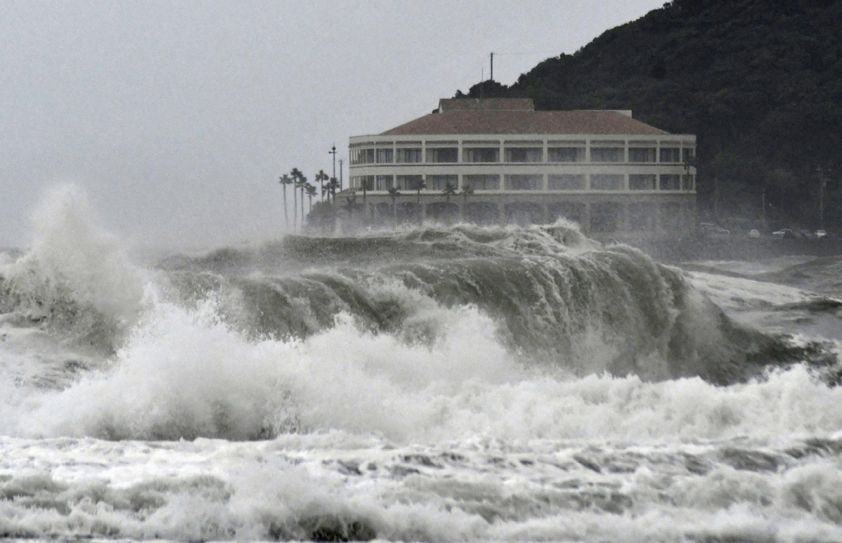 Powerful storm turns deadly, snarls Japanese holiday