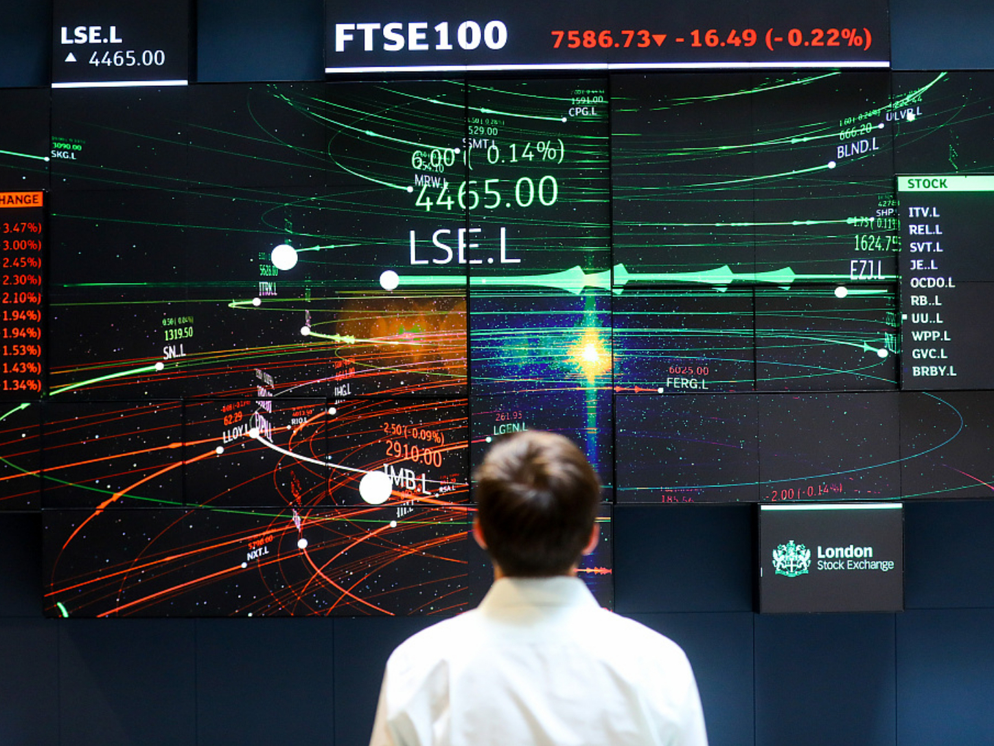 London Stock Exchange opening delayed by technical issue