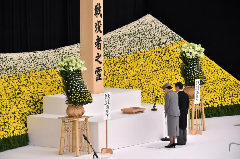 Japan's new emperor speaks of 'deep remorse' in 1st speech marking WWII