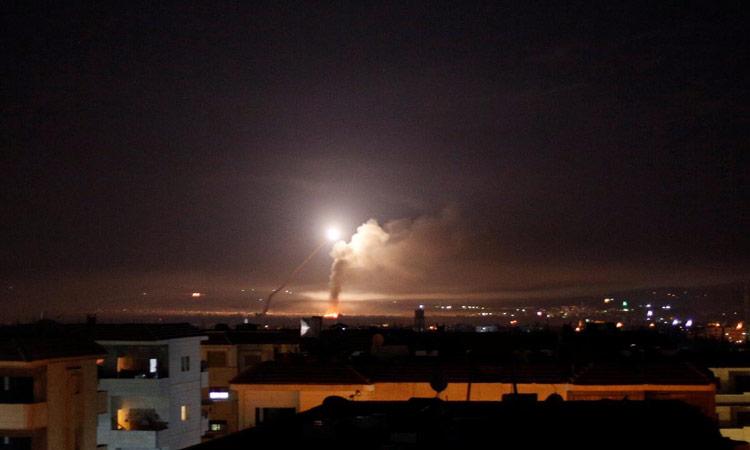 Syrian air defenses intercept missile over Masyaf city: state TV