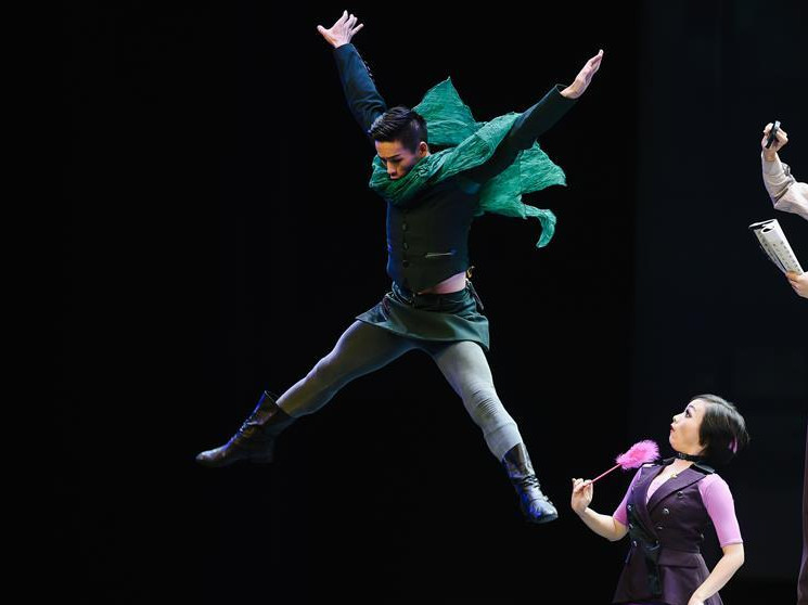 """Chinese drama dance show """"To Meet the Grand Canal"""" staged in Moscow"""