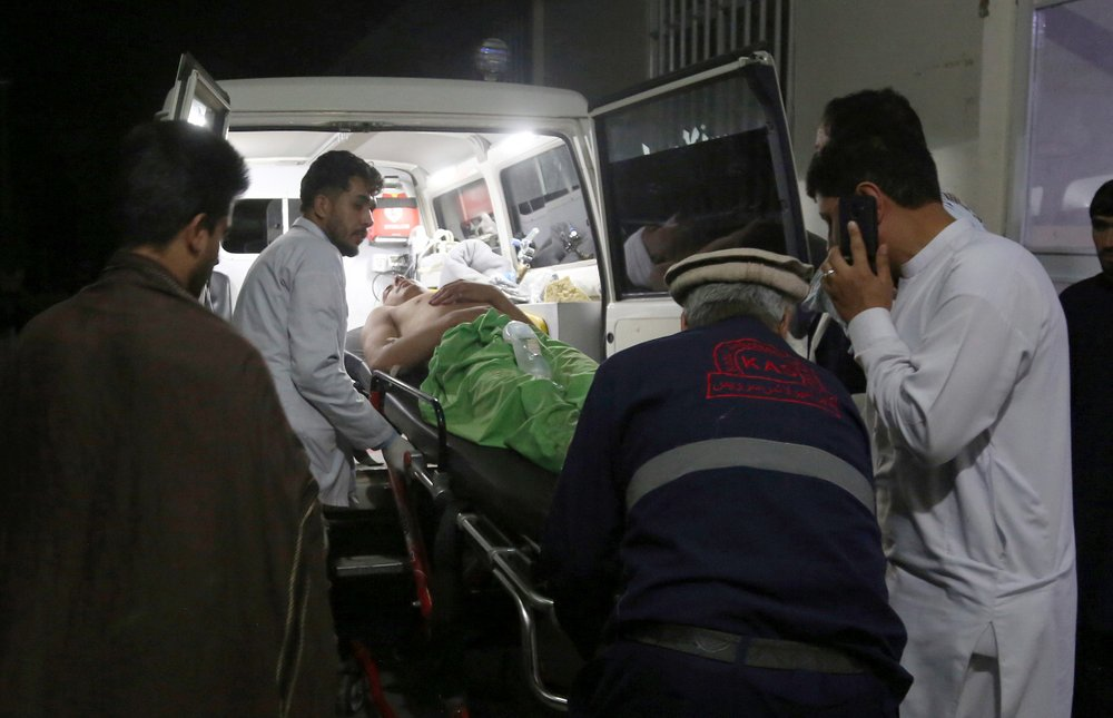 Several killed or injured in wedding hall explosion in Kabul: official