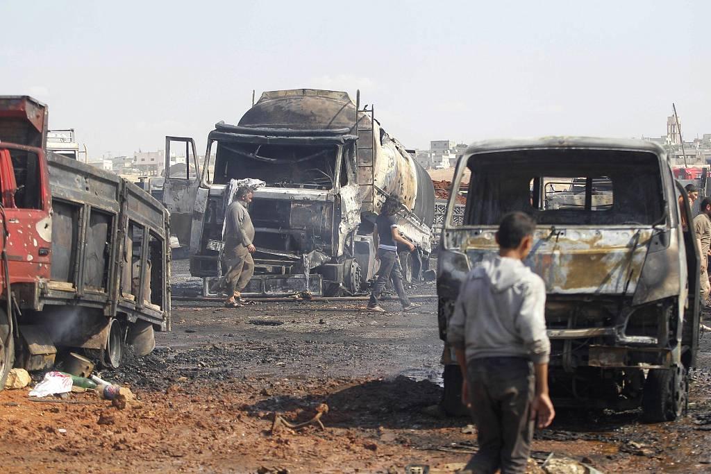 Car bomb goes off in Syria's Qamishli