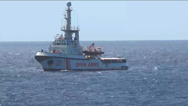 Reluctant Salvini says OK for minors to leave Italy migrant ship