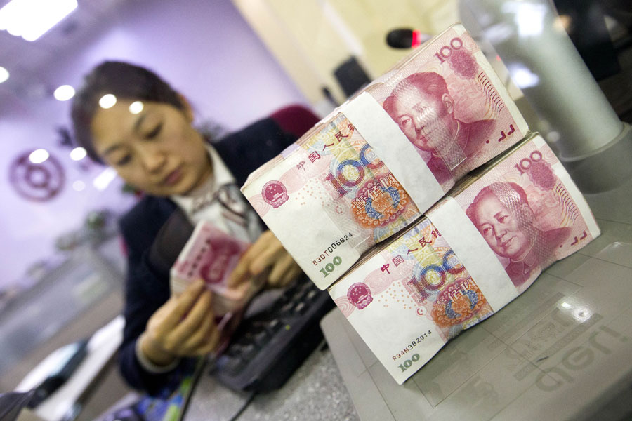 China's central bank drains 10b yuan from market