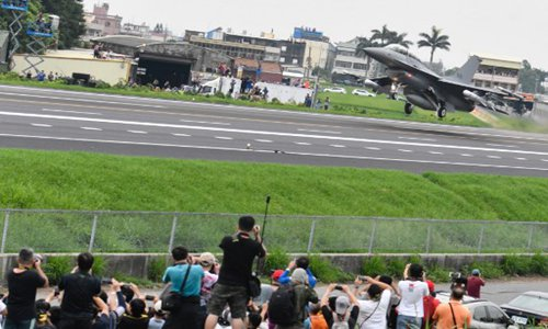 US F-16 sale to Taiwan could lead to new round of military drills, economic sanctions: analyst