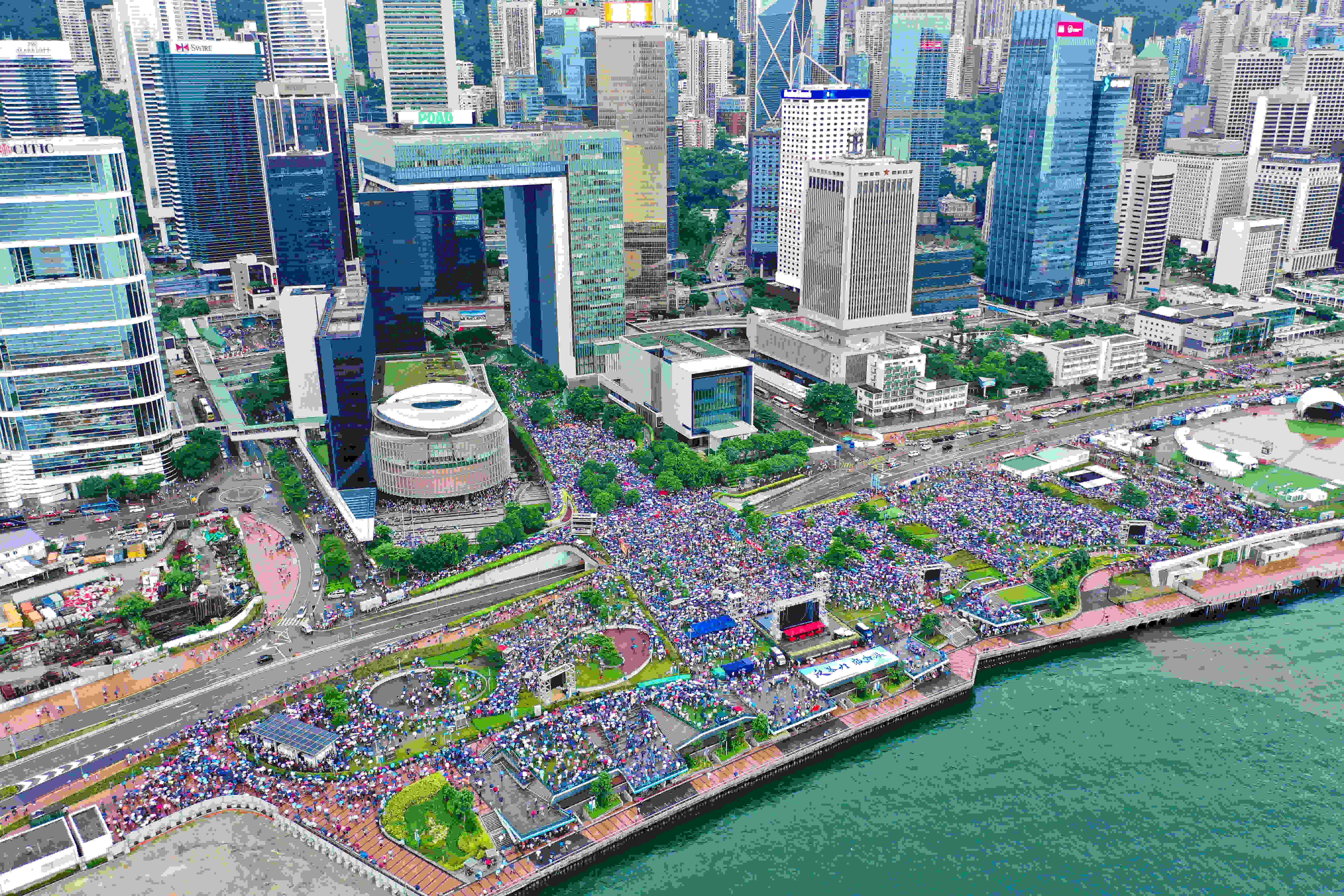 Western countries have no right to interfere in Hong Kong affairs