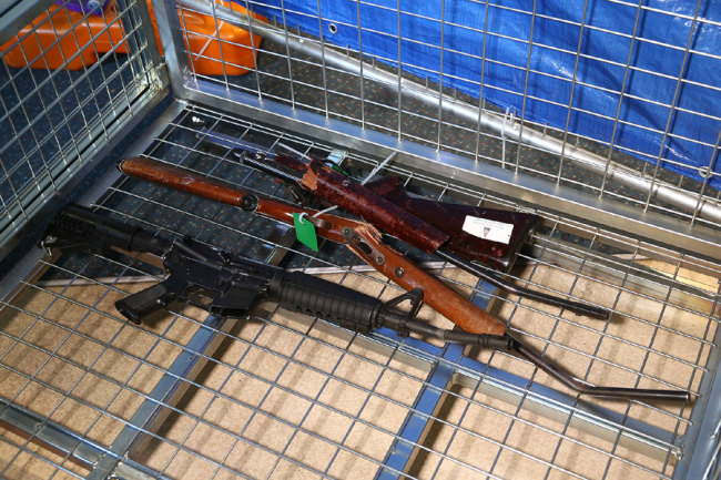 New Zealand gun owners surrender over 10,000 firarms in just one month