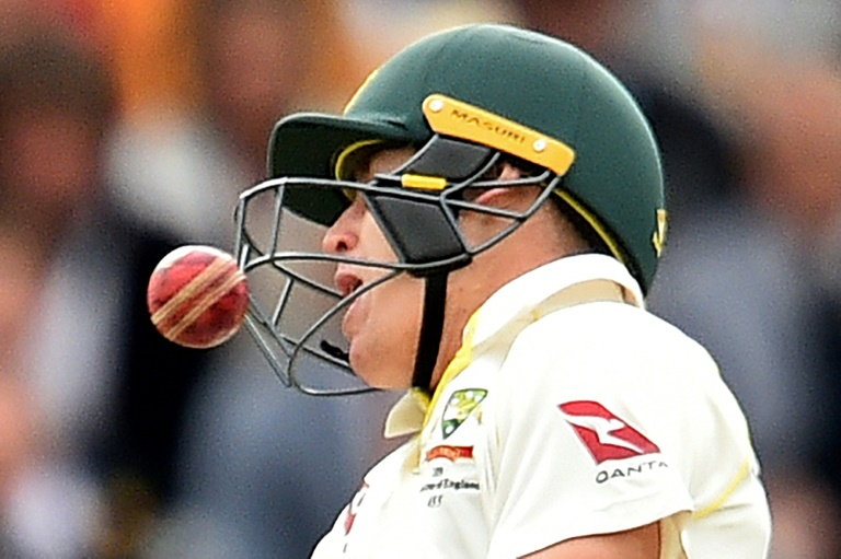 Concussion substitute Labuschagne stars as Australia draw second Ashes Test
