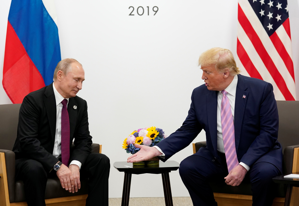 Trump signals support for Russia to rejoin G7