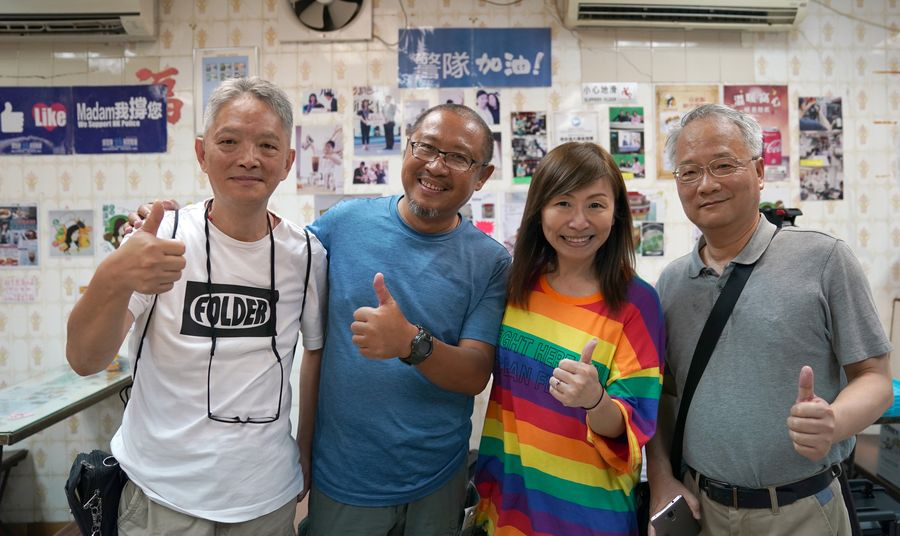 Woman's courage inspires Hong Kong society against violence