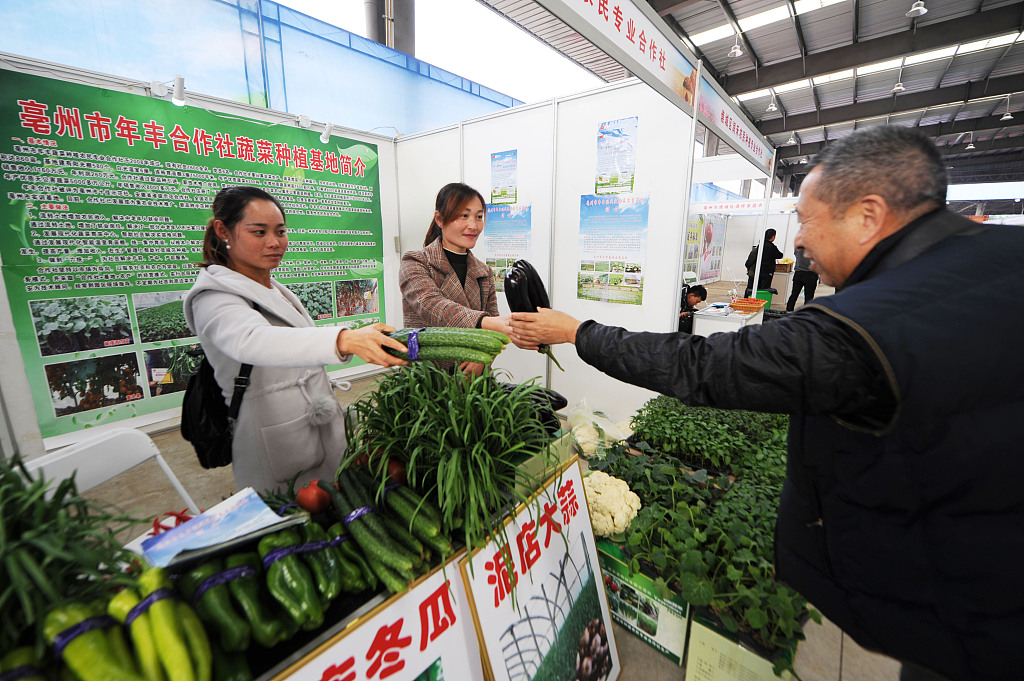 China's weekly farm produce prices continue to rise