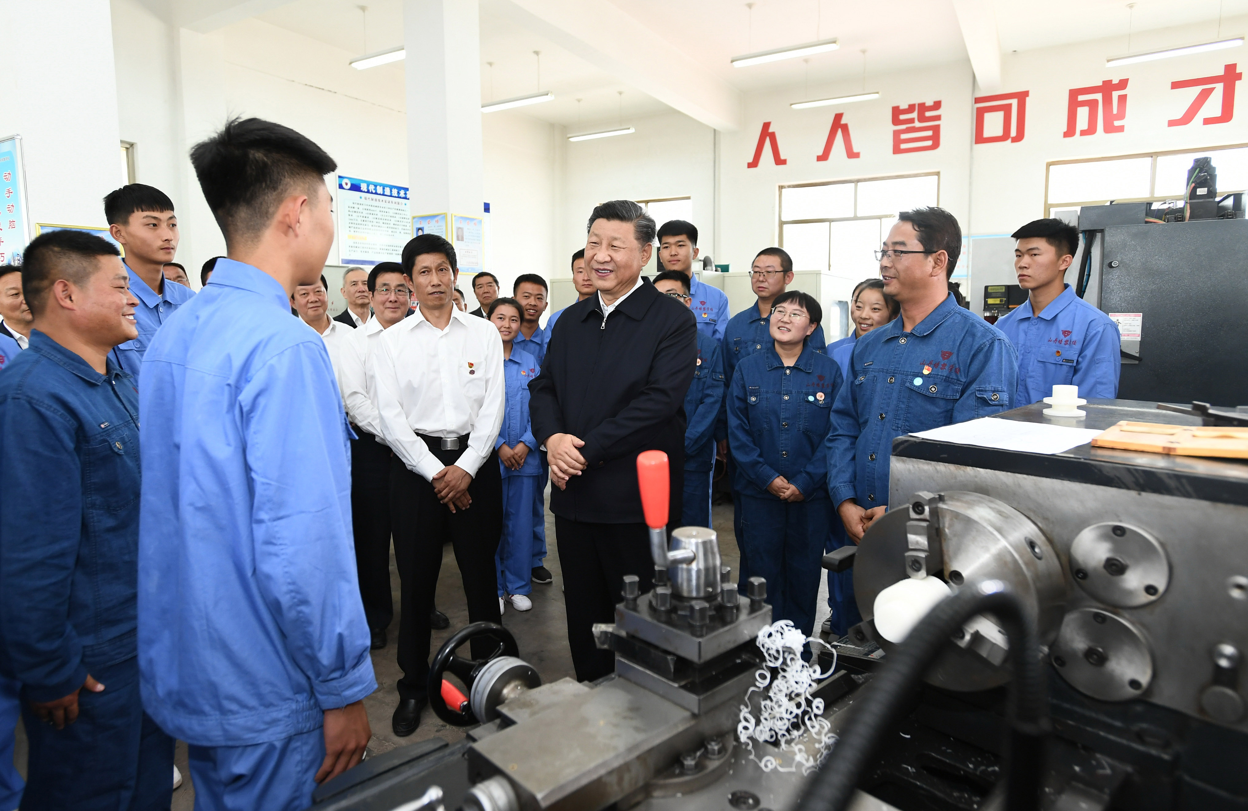 Xi stresses importance of vocational education