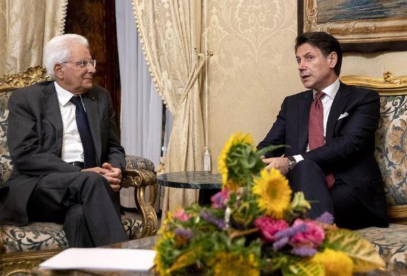 Italian president begins political talks after PM resignation