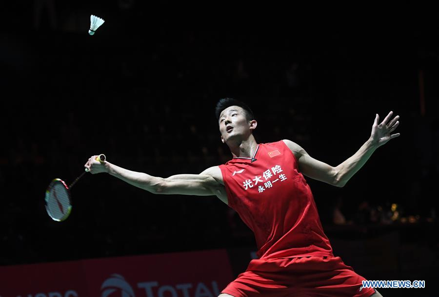 Olympic champion Chen Long reaches men's last 16 at badminton worlds