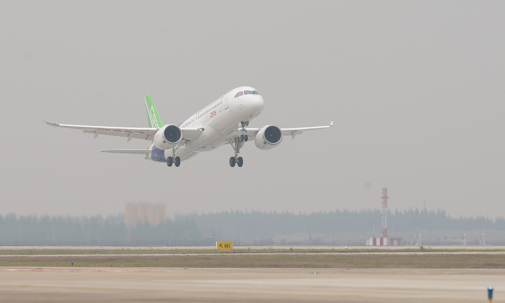 Flying high! China's C919 to start intensive test flight