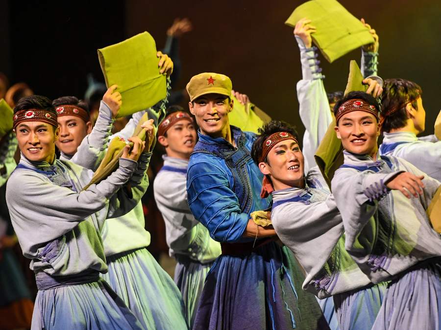 Dance drama Cavalry staged in Inner Mongolia