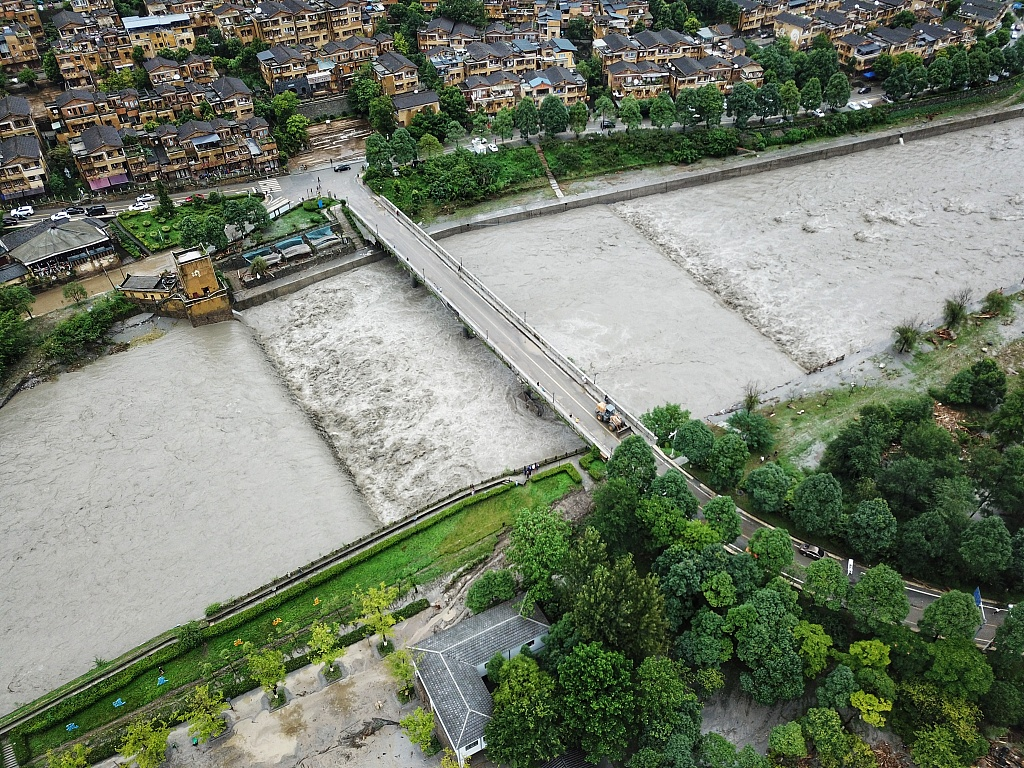 Natural disasters affect over 70 mln people in China since June