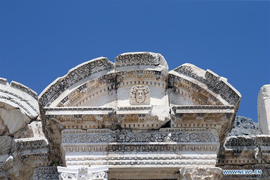 In pics: People visit ancient city of Sagalassos, Turkey