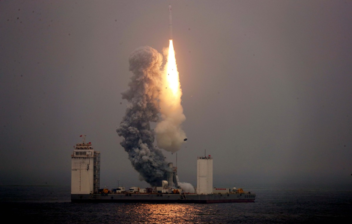 New port will host sea-based space launches
