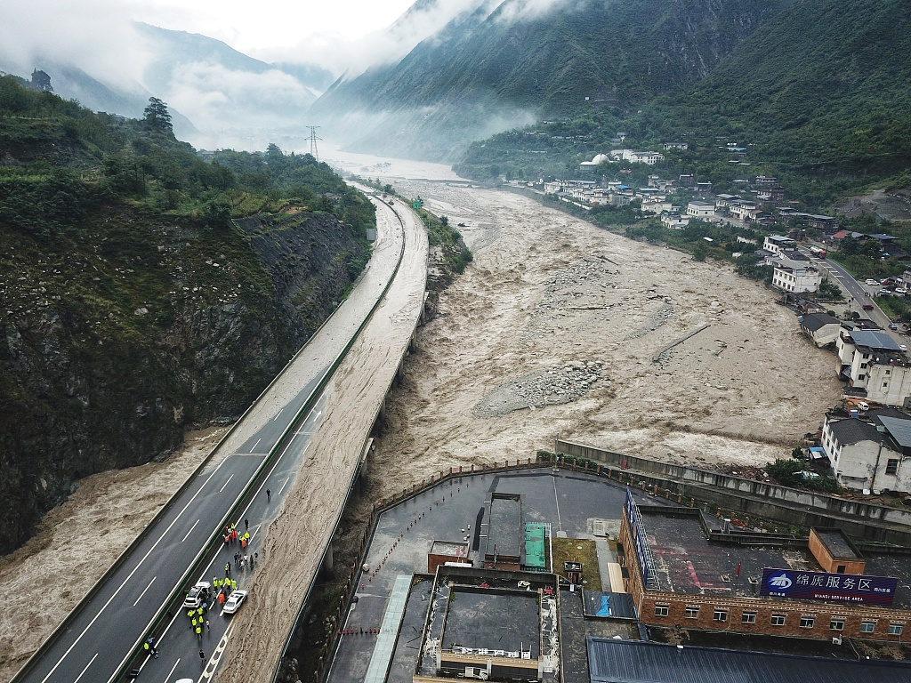 10 dead, 27 missing as rain batters SW China