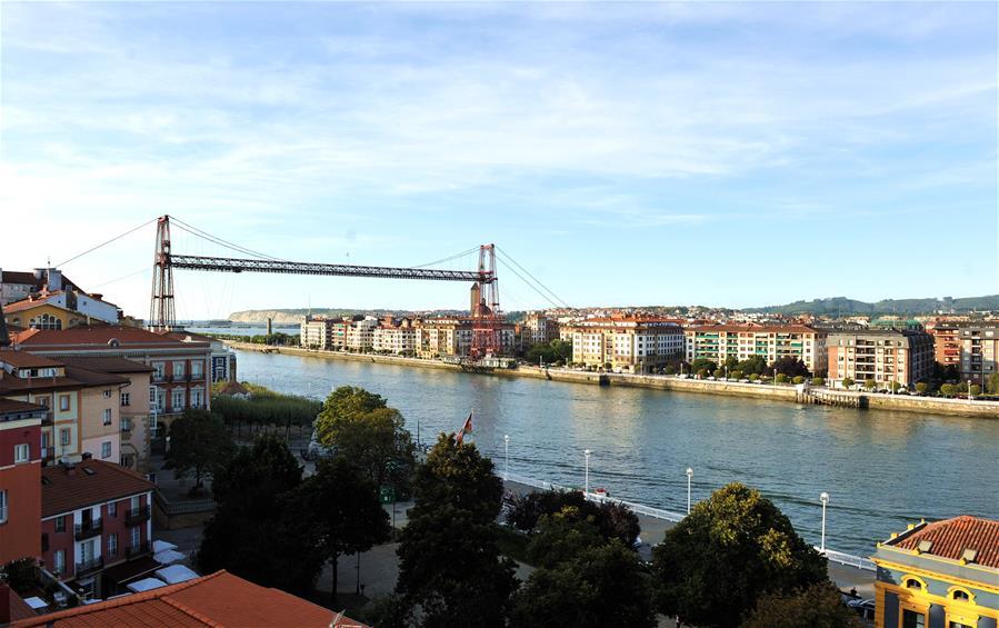 In pics: Biscay Bridge in Basque, Spain