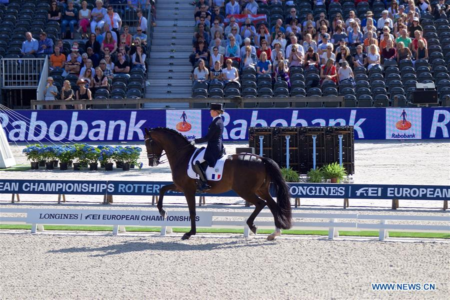 Longines FEI European Championships held in Rotterdam, the Netherlands