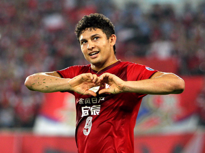 Elkeson determined to rev China's World Cup engine