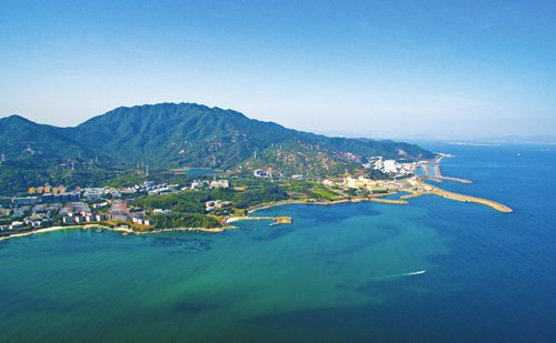 Nuclear plant neighboring HK proud of its ecology work