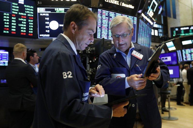 US stocks close mixed ahead of Powell speech