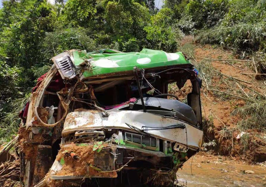 4 Chinese tourists badly injured in bus crash in Laos fly back to homeland