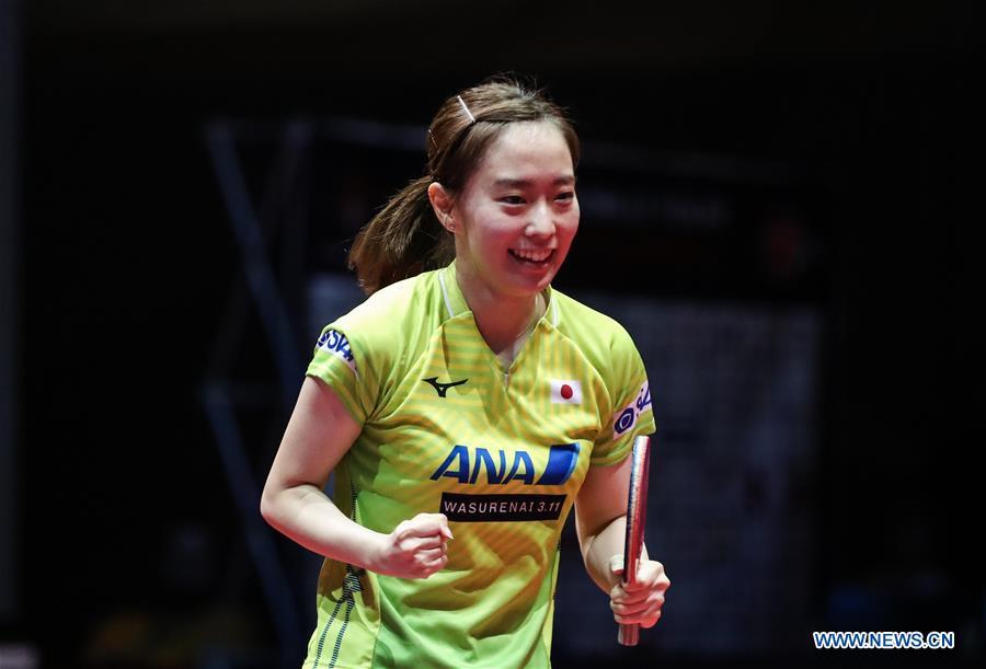 Highlights of quarterfinal matches at 2019 ITTF Czech Open