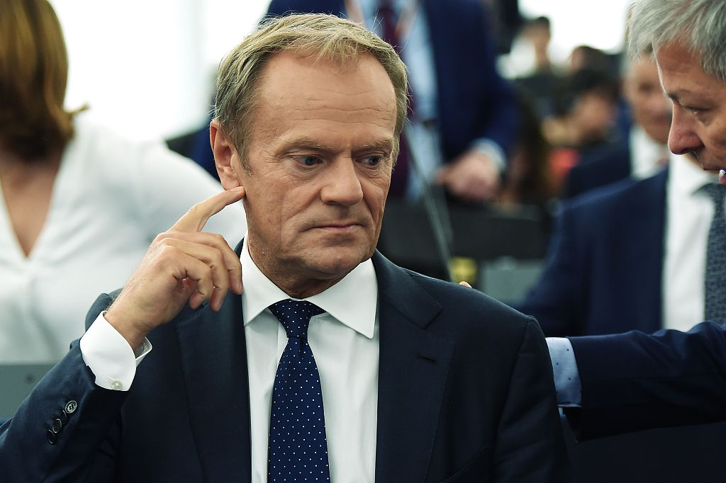 Trade deals and reform of WTO are better than trade wars: EU's Tusk
