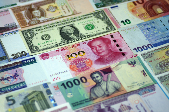 China's foreign exchange market turnover at 17.17 trln yuan in July
