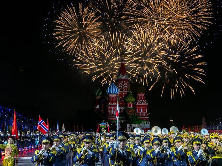 """Spasskaya Tower"" Int'l Military Music Festival opens in Moscow"