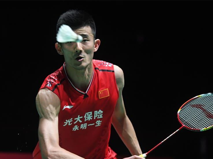 Olympic champion Chen Long knocked out by Antonsen in badminton worlds quarters